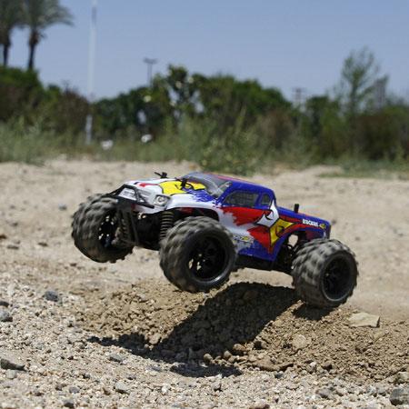 ECX RTR Ruckus 1:24 4wd Monster Truck