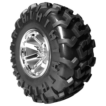 FireBrand RC FUSION-MT 2.2″ Off-Road Bash Wheels With H-Bomb Directional Mud Treads