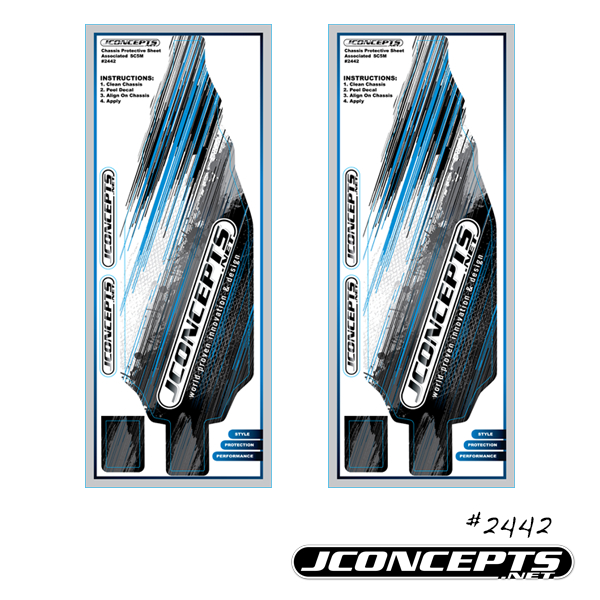 JConcepts SC5M Chassis Protective Sheet (1)