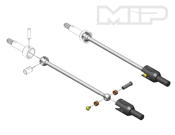 MIP Rollers Shiny Drive System For The HB D413 (2)