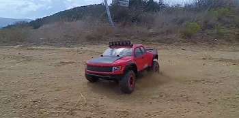 Pro-Line Ford F-150 Raptor Body With Trencher X Tires [VIDEO]
