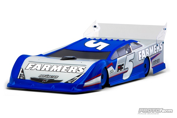 PROTOform Nor'easter Late Model Clear Body (1)