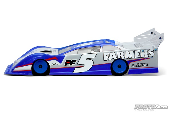 PROTOform Nor'easter Late Model Clear Body (2)