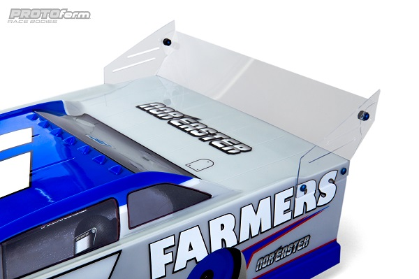 PROTOform Nor'easter Late Model Clear Body (3)