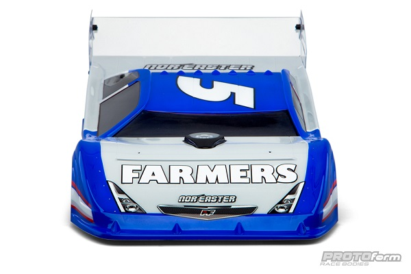 PROTOform Nor'easter Late Model Clear Body (4)