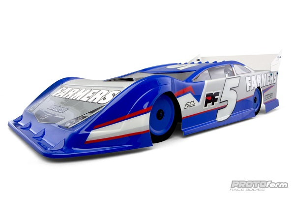 PROTOform Nor'easter Late Model Clear Body (5)