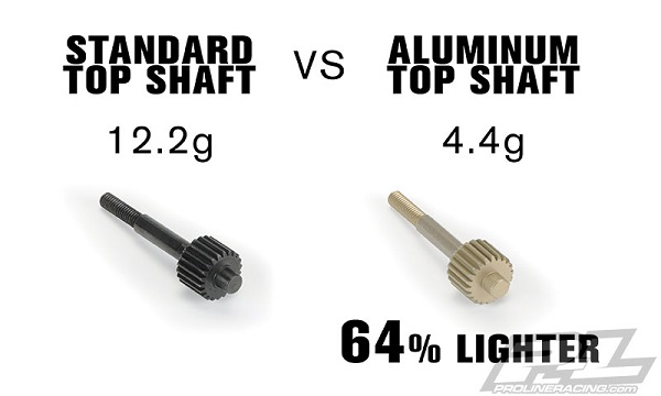 Pro-Line Aluminum Top Shaft For The PRO-2 And PRO-2 Buggy Performance Transmission (3)