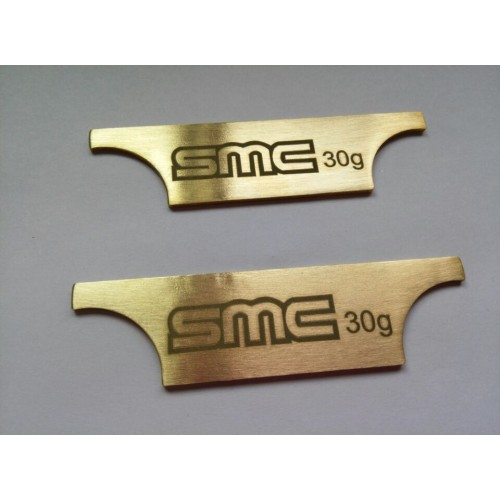 SMC Brass Compartment Weight System
