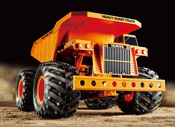 Tamiya's Heavy Dump Truck is Construction Equipment You Get to Construct