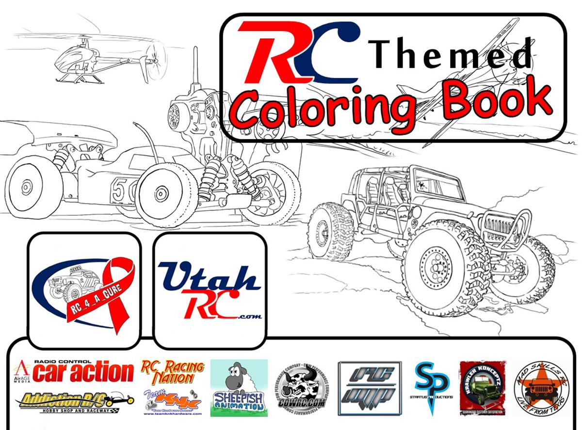 UtahRC Coloring Book Cover