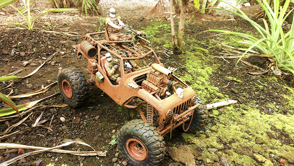Axial Wraith, Mad Max Fury Road, RC, Crawler, Scale, realistic