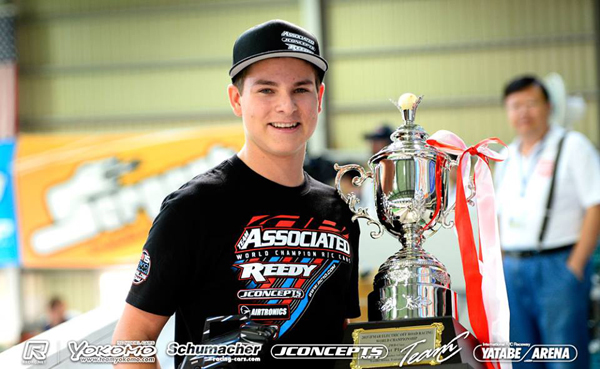 Spencer Rivkin, 2015 IFMAR EP 2WD Buggy Champion