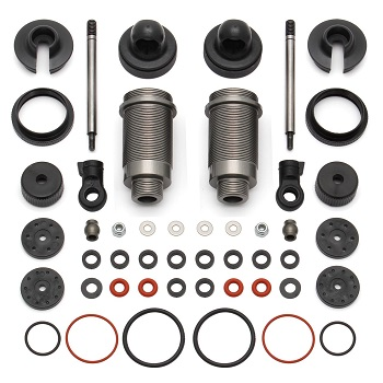 Team Associated Factory Team 16mm Threaded Aluminum Shock Kit For The ProLite 4×4, ProSC 4×4, And ProRally