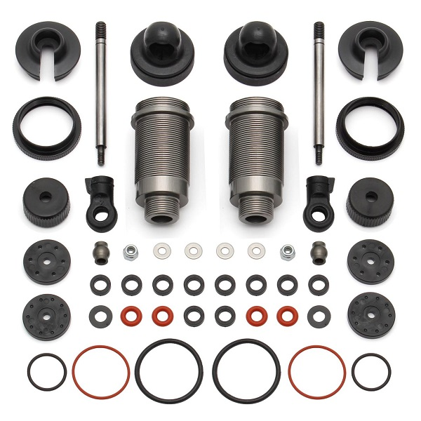 Team Associated Factory Team 16mm Threaded Aluminum Shock Kit For The ProLite 4x4, ProSC 4x4, And ProRally