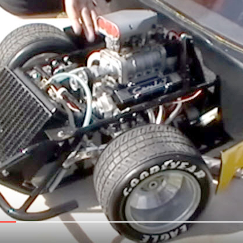 This V8-Powered, Quarter-Scale C4 Corvette is The Radness [VIDEO]