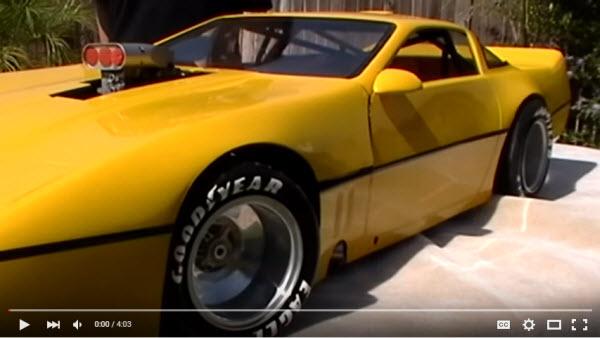 Chevy Corvette Conley v8 power quarter scale X