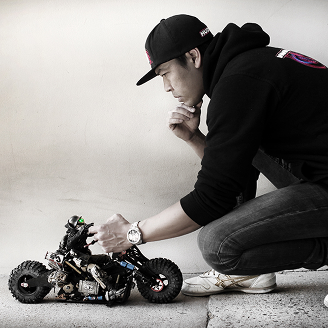 Artist Danny Huynh Talks About His Dystopian RC Creations