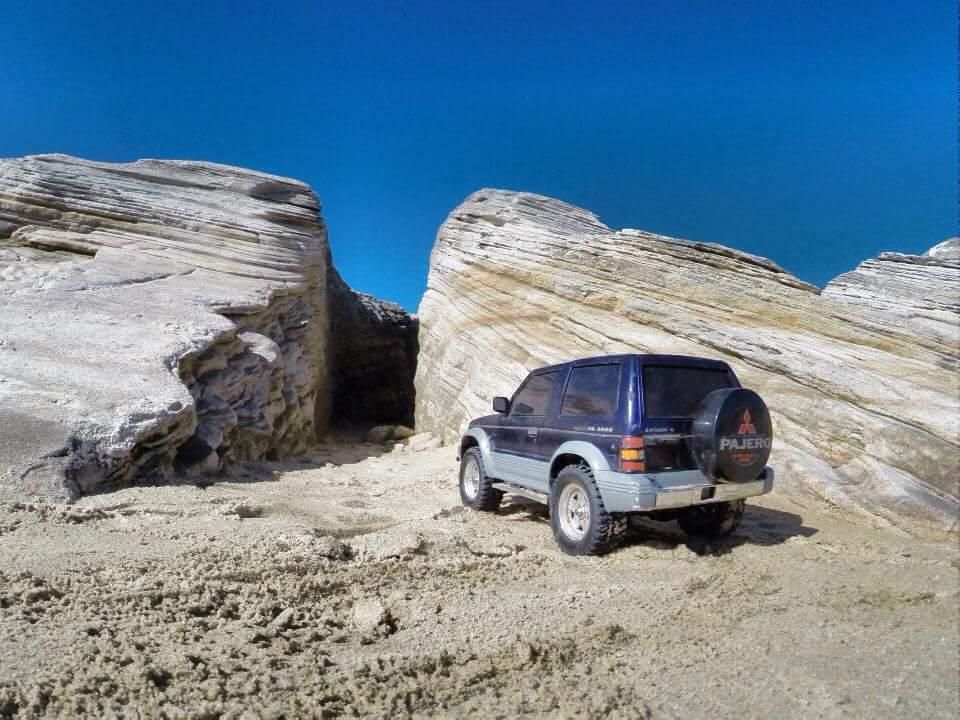 Tamiya, Mitsubishi Pajero, RC4WD, Axial, scale, off-road, Australia, crawler