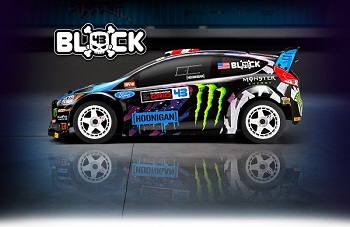 HPI RTR 2015 Ken Block Ford Fiesta ST RX43 WR8 Flux
