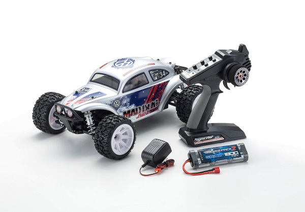 Kyosho ReadySet MAD Bug VEi 4wd Buggy (10)