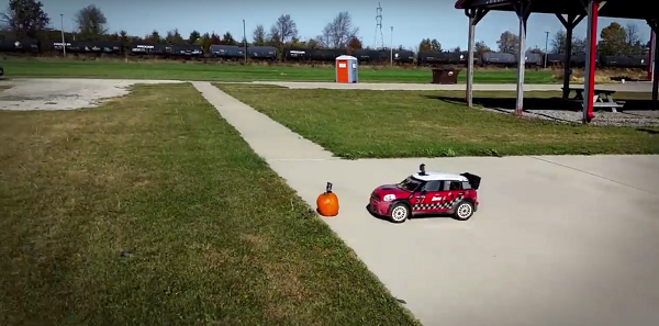 Losi Goes Pumpkin Smashing With A Losi RTR 1_5 MINI WRC