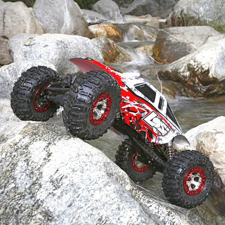 Losi RTR Nightcrawler 2.0 4WD 1/10 Rock Crawler [VIDEO]