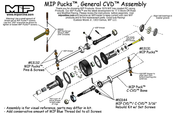 MIP Pucks 17.5 Drive System For The TLR 22T 2.0 (3)