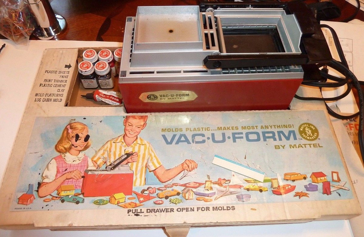 Mattell's Vac-U-Form Was the 3D Printer of the 1960s - RC Car Action