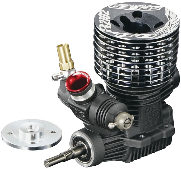 O.S. Engine Speed R2102 1_8 On-Road Nitro Engine