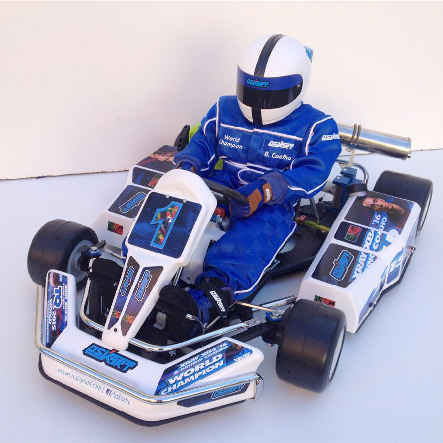 4WD World Champ Bruno Coelho Gets a 1/2 Scale Go-Kart and a Hug