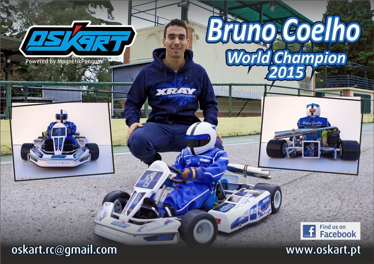 OSKART Bruno Coelho half scale go-kart 7
