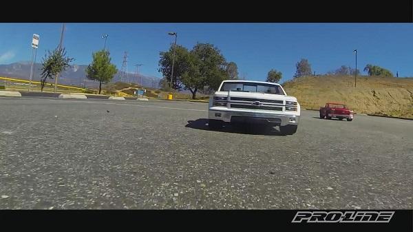 Pro-Line Chevy Silverado Pro-Touring Body