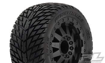 Pro-Line Road Rage 2.8″ (Traxxas Style Bead) All Terrain Mounted Tires