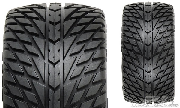 Pro-Line Road Rage 2.8 (Traxxas Style Bead) All Terrain Mounted Tires  (2)