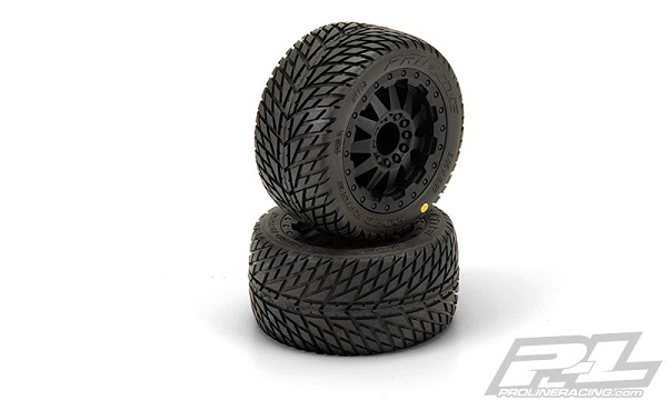 Pro-Line Road Rage 2.8 (Traxxas Style Bead) All Terrain Mounted Tires  (3)