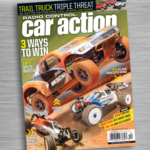 LOOK INSIDE: RC Car Action December Issue On Sale Now