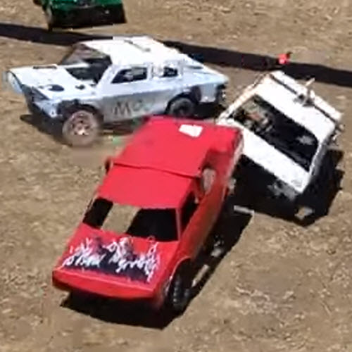 Smash-Start Your Day With These RC Demolition Derby Clips [VIDEO]