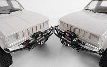 RC4WD 1/10 Mini Warn 9.5cti Winch And Optional Premium Snatch Block