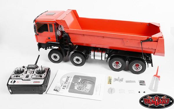 RC4WD ARR 1_14 8x8 Armageddon Hydraulic Dump Truck (Full Metal)