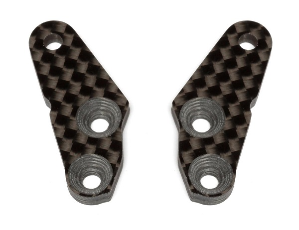 Team Associated Factory Team Steering Block Arms For The RC8B3 And RC8B3e (2)