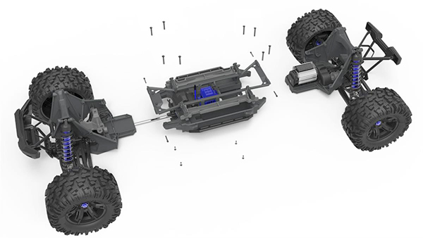 Traxxas X-Maxx chassis modules