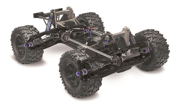 Traxxas X-Maxx cutaway chassis