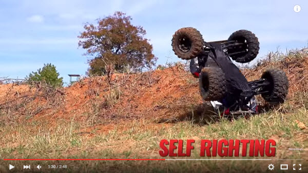 Traxxas X-Maxx self righting 1