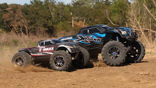 Traxxas X-Maxx size comparison