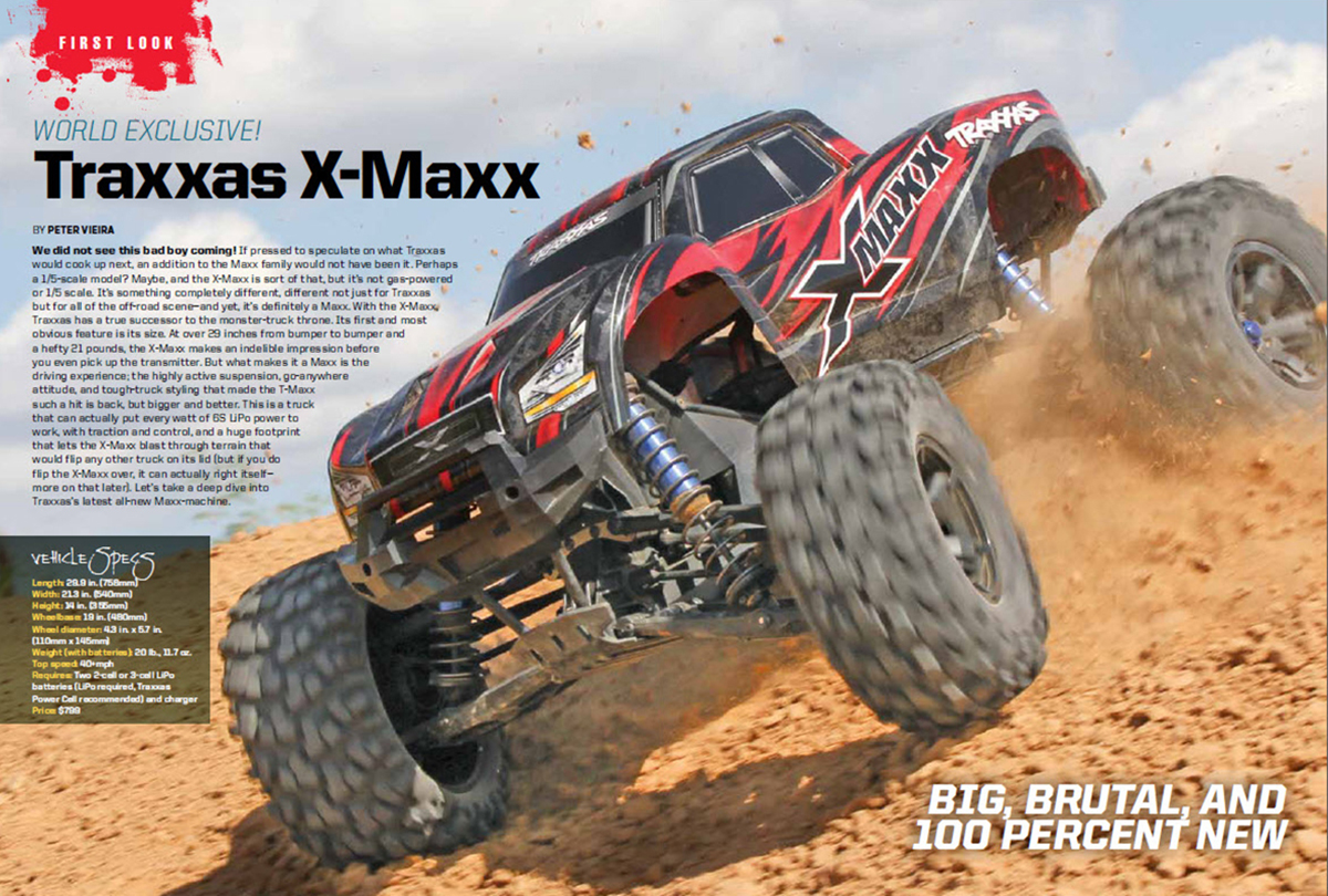 Traxxas X-Maxx spread