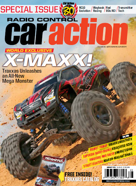X-Maxx RC Car Action cover