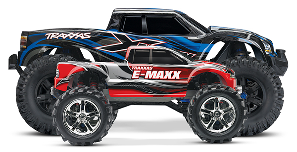 X-Maxx size comparison E-Maxx studio