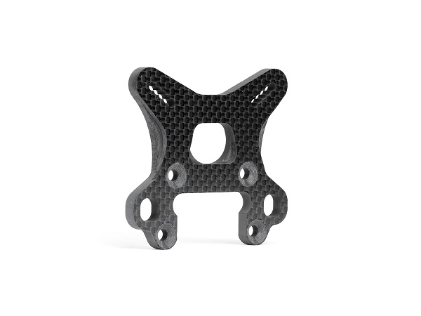 Avid Carbon Shock Towers Set And Aluminum Standoffs For The Team Associated RC8B3  (2)
