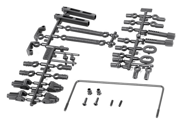 Axial 35T Brushed Motor And RR10 Rear Sway Bar Set (2)