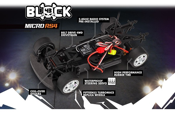 HPI RTR Ken Block 1_18 Ford Fiesta RX43 Micro RS4 (8)